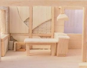 Model eines Hauses 2